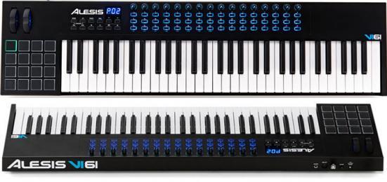 Alesis VI61 61 Key MIDI Keyboard Controller