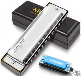 ARTHOMES H-01 Blues Harmonica Major Key of C