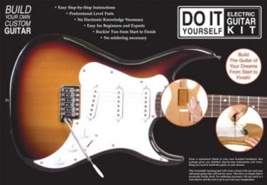 AXL Do-It-Yourself Electric Guitar Kit