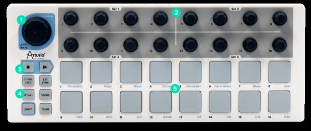 Arturia BeatStep MIDI Pad Controller