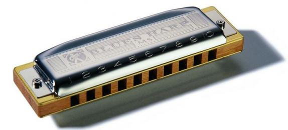 Hohner Blues Harp MS Harmonica - Key of C