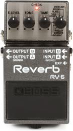 Boss RV6 Digital Reverb Pedal