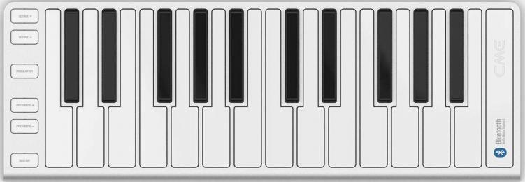 CME Xkey Air 25-key Bluetooth MIDI Keyboard Controller