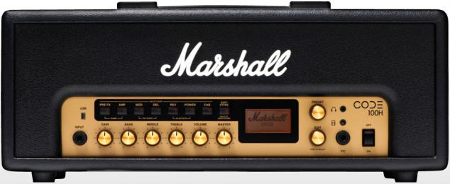 MArshall Code 100H Modeling Amp Head 100W