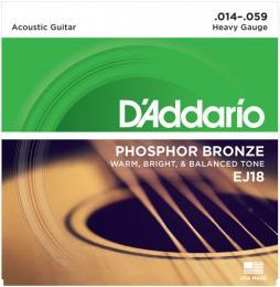 D'Addario EJ18 PB Heavy Acoustic Guitar Strings