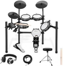 Donner DED-200 8-pc Mesh Head Electronic Drum Set
