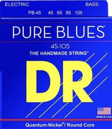 DR Strings Pure Blues Bass Guitar Strings (Medium)