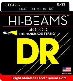 DR Strings LR-40 Hi-Beam Stainless Steel Bass Strings (Light)