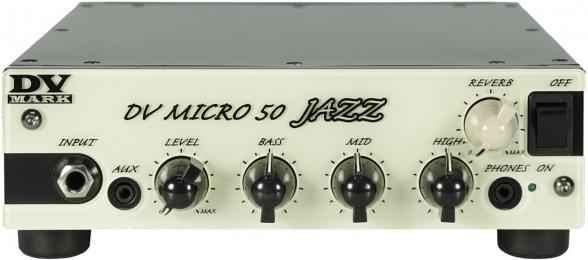 DV Mark Micro 50 Jazz 50W Guitar Amp Head