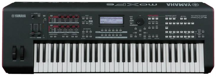 Yamaha MOXF6 61-key Synthesizer Workstation