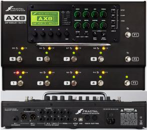 Fractal Audio AX8 Guitar Multi-Effects Processor