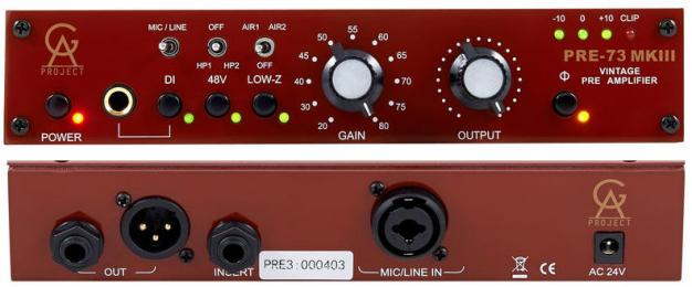 Golden Age Pre-73 MKIII Mic Preamp