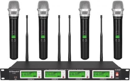 GTD Audio G-787H UHF Diversity Handheld Microphone Wireless System