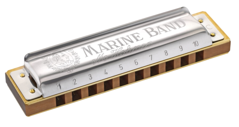 Hohner Marine Band 1896 Classic Blues Harmonica - Key of C