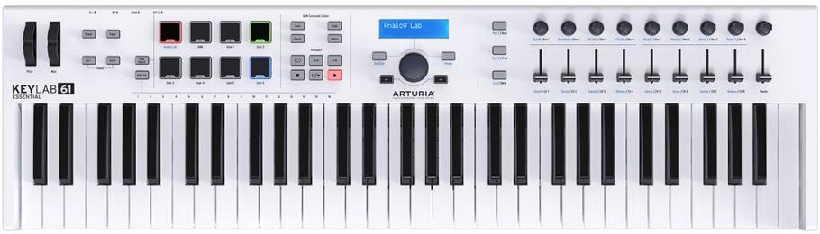 Arturia KeyLab Essential 61 MIDI Keyboard Controller