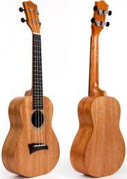 Kmise Soprano Ukulele Vintage 21 Inch Hawaiian Guitar