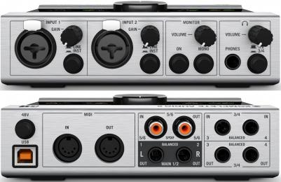 Komplete Audio 6 6-Channel USB Audio Interface