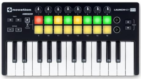 Novation Launchkey Mini MIDI Keyboard Controller