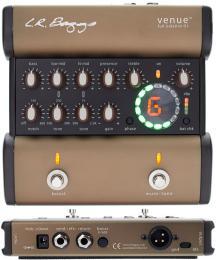 LR Baggs Venue DI Acoustic Preamp DI Box with EQ and Tuner Pedal