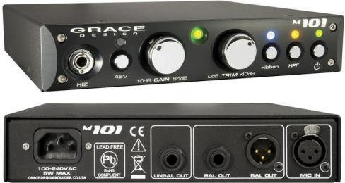 Grace Design m101 Single Channel Mic Preamp