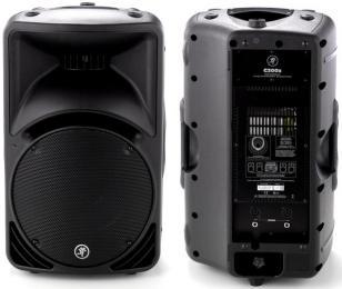 "Mackie C300z Passive Loudspeaker 300-Watt 12"" Woofer"