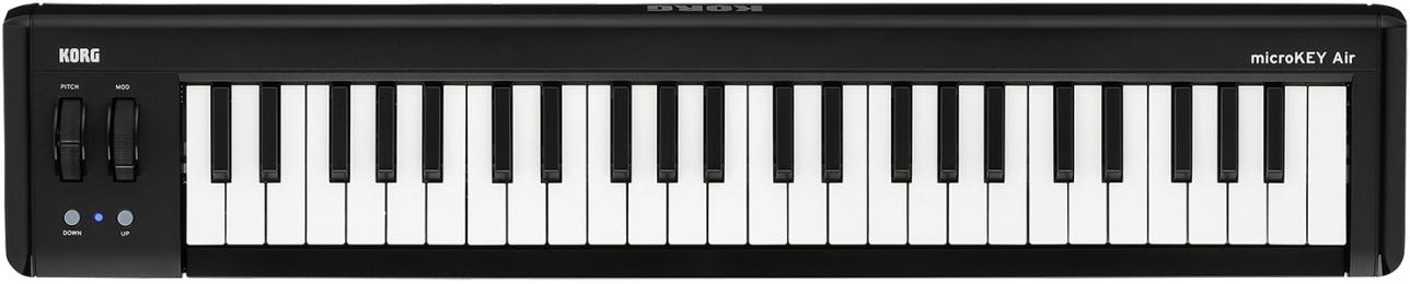 Korg microKEY AIR 49 Bluetooth MIDI Keyboard Controller