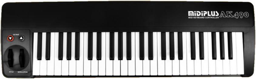 midiplus AK490 49-Key MIDI Keyboard Controller