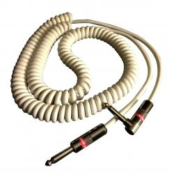 Monster Classic Coiled Instrument Guitar Cable