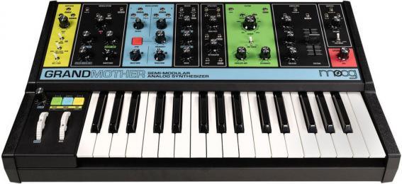 Moog Grandmother Semi-Modular Analog Synthesizer Keyboard