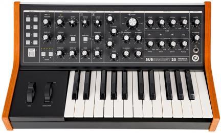 Moog Subsequent 25 Analog Synthesizer Keyboard