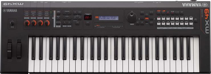 Yamaha MX49 V2 Music Synthesizer MIDI Controller Keyboard
