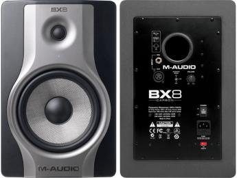 "M-Audio BX8 Carbon 130W 8"" Powered Studio Monitor"