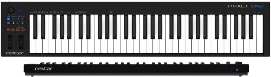 Nektar Impact GX61 61-Key MIDI Keyboard Controller