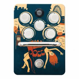 Orange Kongpressor Optical Compressor Pedal