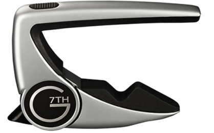 G7th Performance 2 Capo - Steel String Silver