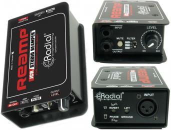 Radial Reamp JCR Studio Reamper DI Box