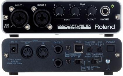 Roland DUO-Capture EX UA-22 USB Audio Interface