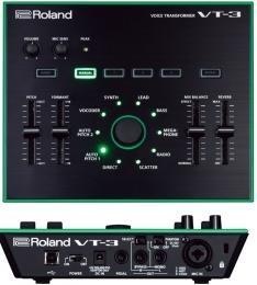 Roland VT-3 Voice Transformer Vocal Effects Processor
