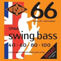 Rotosound SM66 Swing Bass Guitar Strings (Light)