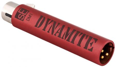 sE Electronics DM1 Dynamite Active Inline Preamp for Dynamic & Ribbon Mics