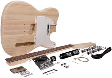 Seismic Audio SADIYG-02 Tele Style DIY Electric Guitar Kit