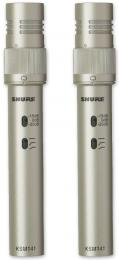 Shure KSM141 Stereo Pair Omnidirectional/Cardioid Condenser Microphones