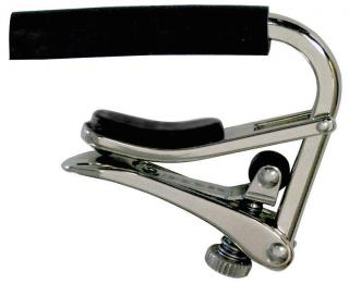 Shubb C Series Standard Steel String Guitar Capo - Nickel