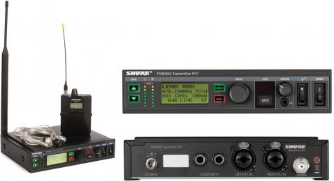 Shure PSM900 Wireless In-Ear Monitor System