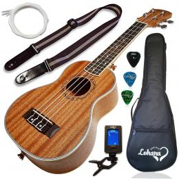 Lohanu Soprano Ukulele Bundle Kit