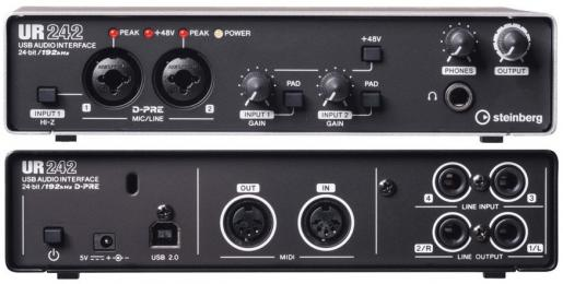Steinberg UR242 4-Channel USB Audio Interface