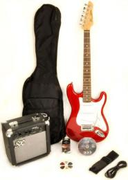 SX RST 3/4 Short Scale Electric Guitar Bundle