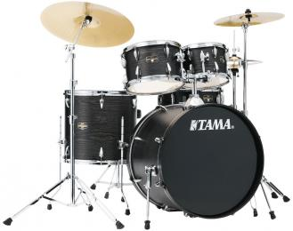 "TAMA Imperialstar 5-Pc Acoustic Drum Set with 22"" Kick"