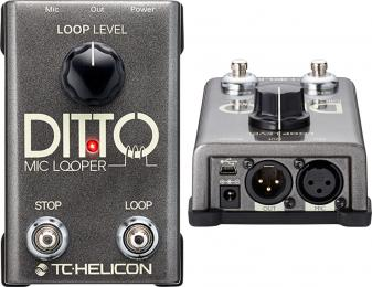 TC Helicon Ditto Mic Looper - Vocal Effects Pedal