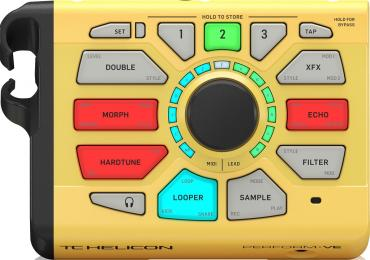 TC-Helicon Perform-VE Vocal Effects Processor and Sampler